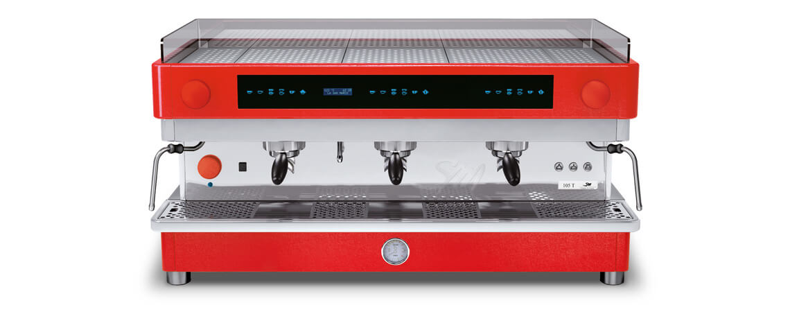 профессиональная традиционная кофемашина La San Marco SERIES 105 TOUCH