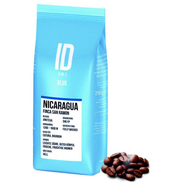 кофе J.J. Darboven ID Blue Nicaragua моносорт