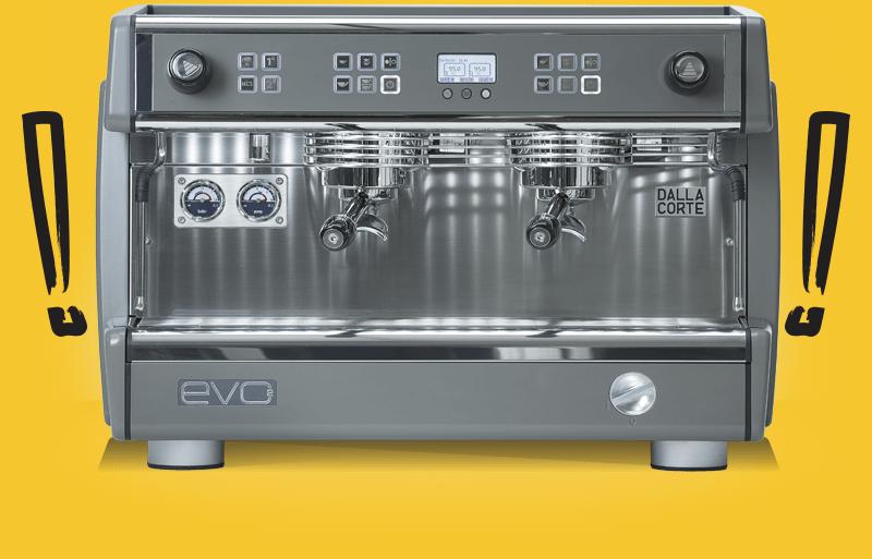 кофемашина Dalla Corte Evo2